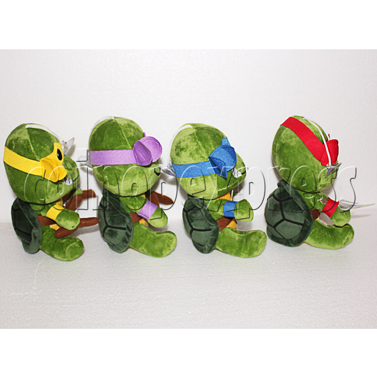 Super Tortoise Plush Toy 8 inch - side view