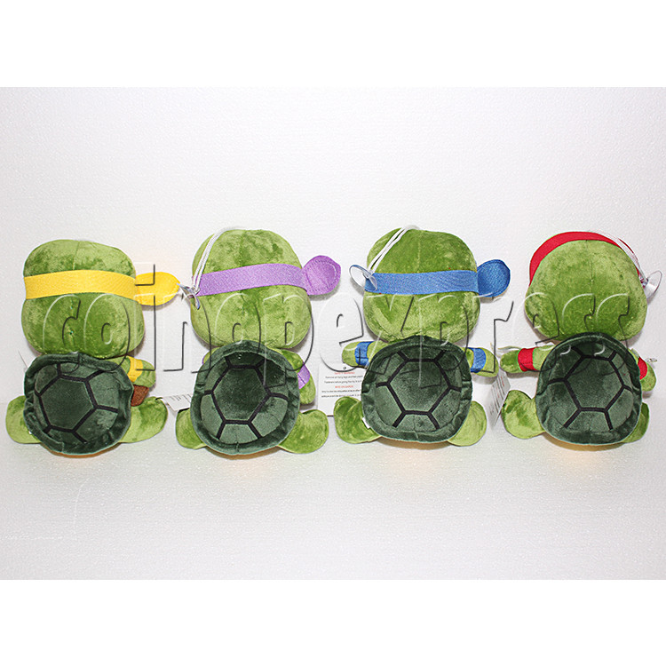 Super Tortoise Plush Toy 8 inch - back view