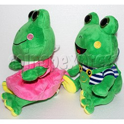 Lovers Frog Plush Toy 8 inch