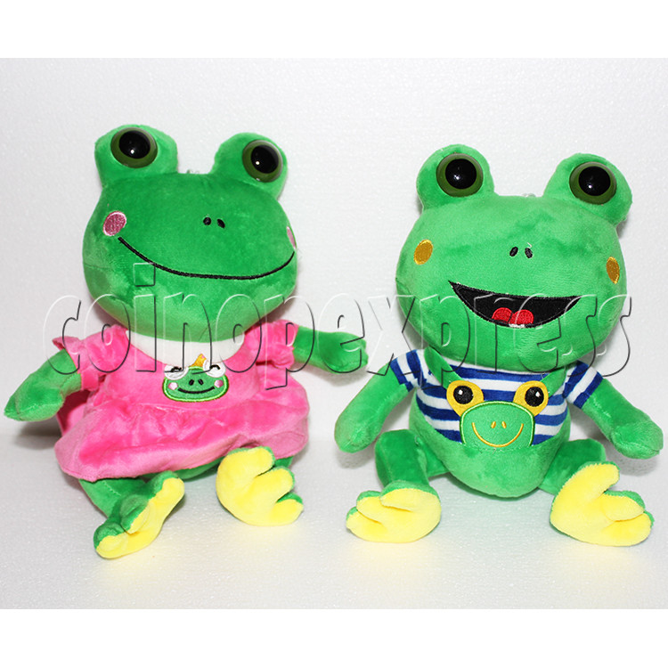 Lovers Frog Plush Toy 8 inch - front view