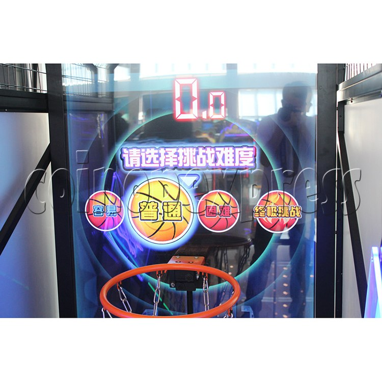 Storm Shot Basketball Arcade Ticket Redemption Game Machine - difficulty