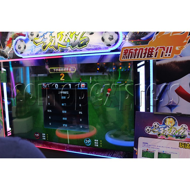 Fantasy Soccer Sport Arcade Machine 2 Players - screen display 2