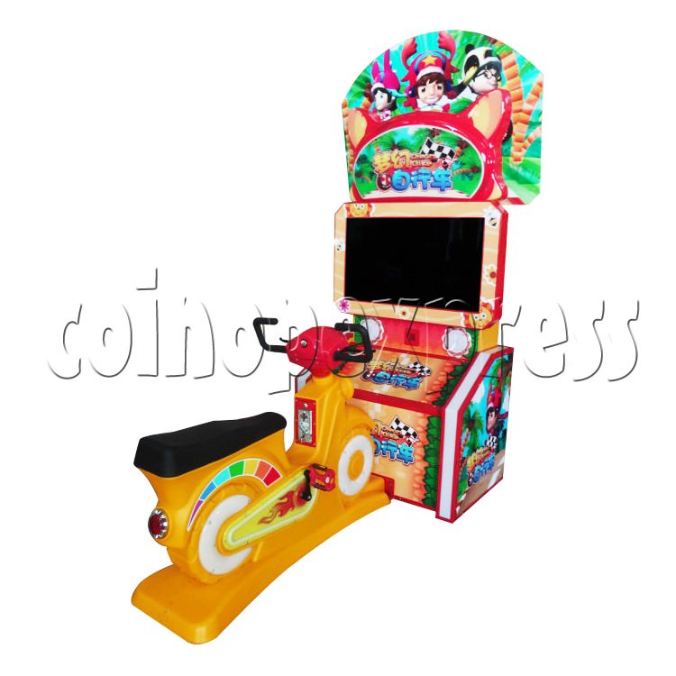 Mini Bike Sport Game Machine For Kid - right view