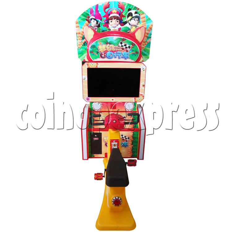 Mini Bike Sport Game Machine For Kid - front view