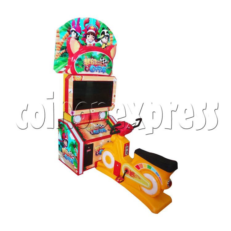Mini Bike Sport Game Machine For Kid - left view
