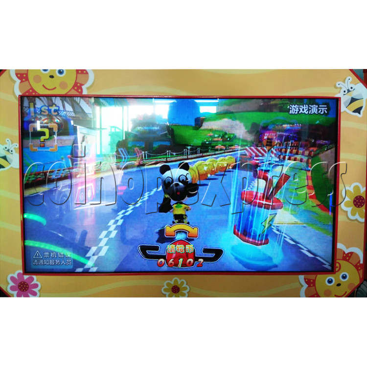 Mini Bike Sport Game Machine For Kid - screen display