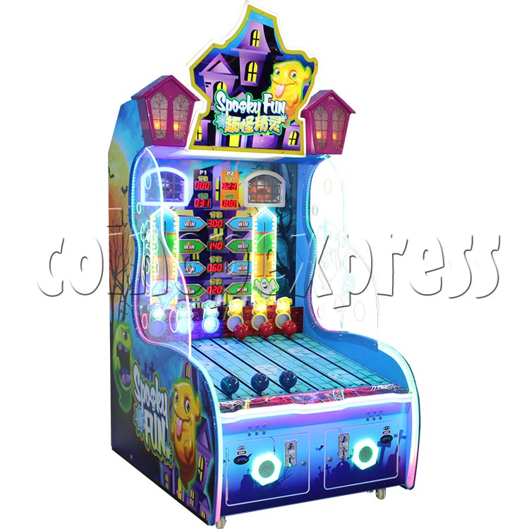 Spooky Fun Ticket Redemption Arcade Machine - left view