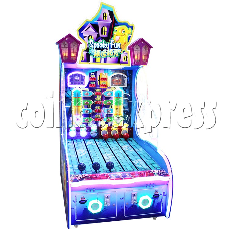 Spooky Fun Ticket Redemption Arcade Machine - front view