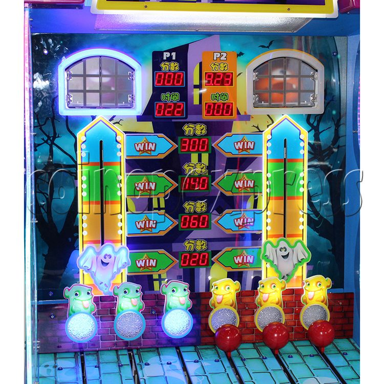 Spooky Fun Ticket Redemption Arcade Machine - playfield