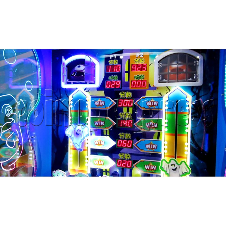 Spooky Fun Ticket Redemption Arcade Machine - LED display