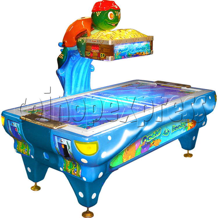 Ocean Air Hockey - left view