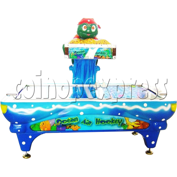 Ocean Air Hockey - front view