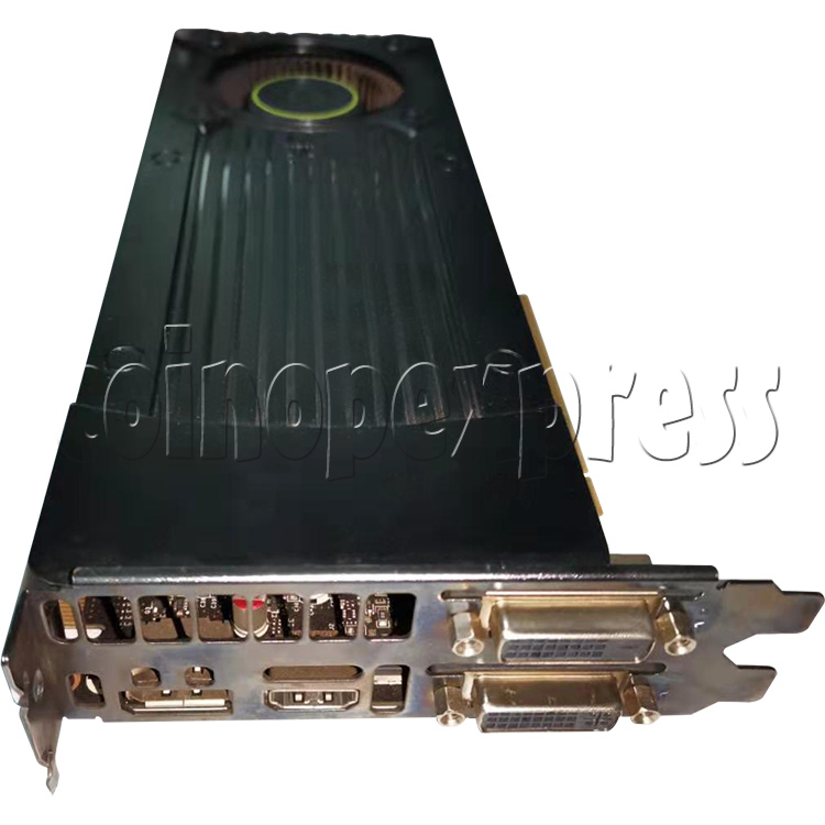 Video Card for Namco Shooting Arcade Machine - Part No. Geforce GTX 760 front view