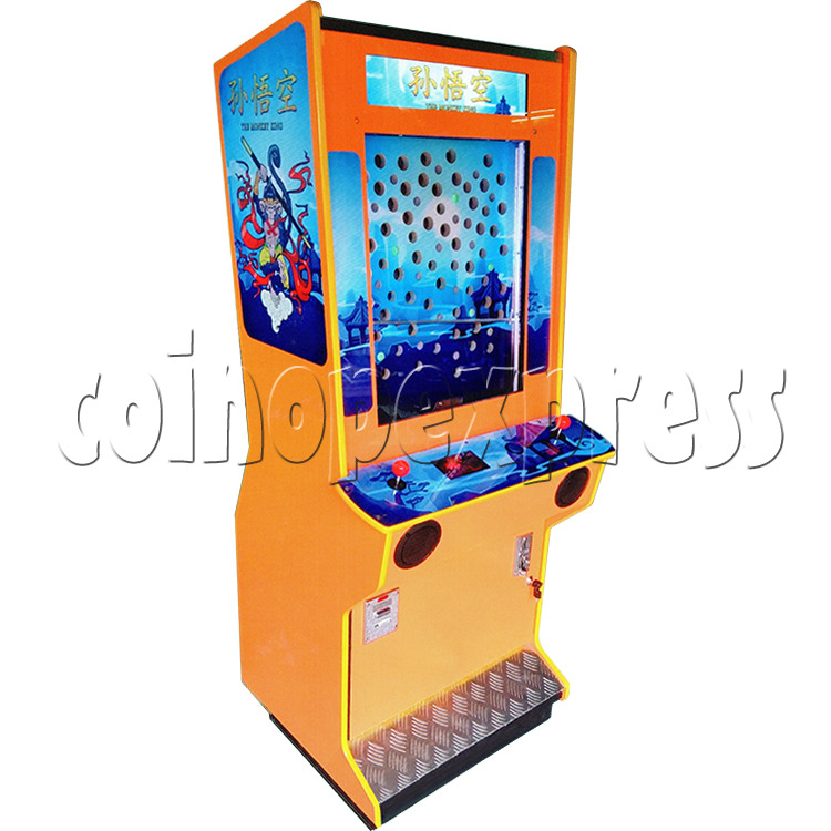The Monkey King Mechanical Action Ticket Redemption Arcade Machine - left view