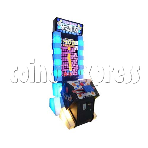 Tippin Blocks Video Ticket Redemption Machine - left view