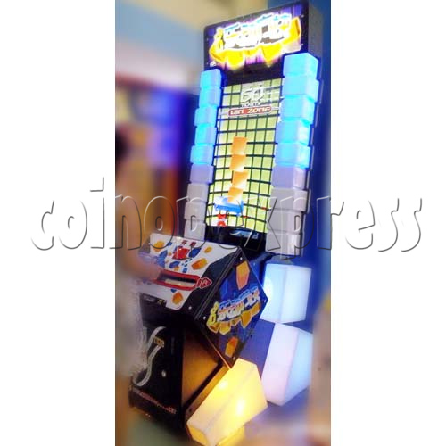 Tippin Blocks Video Ticket Redemption Machine - play view