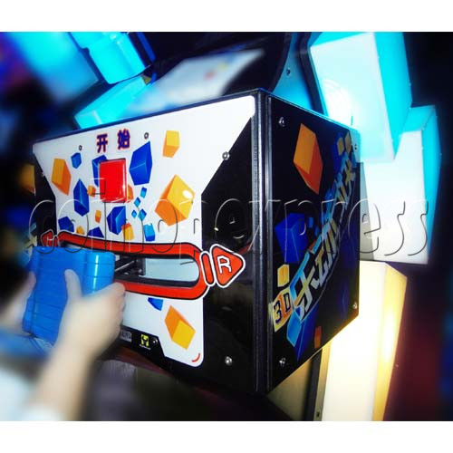 Tippin Blocks Video Ticket Redemption Machine - console