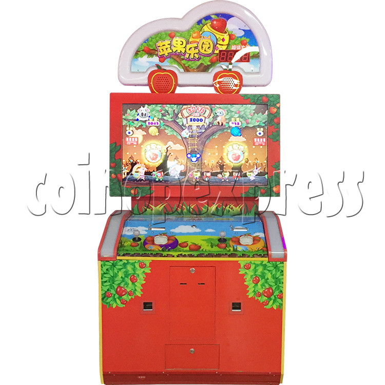 Apple Picking Arcade Ticket Redemption Machine - appearance sticker 1
