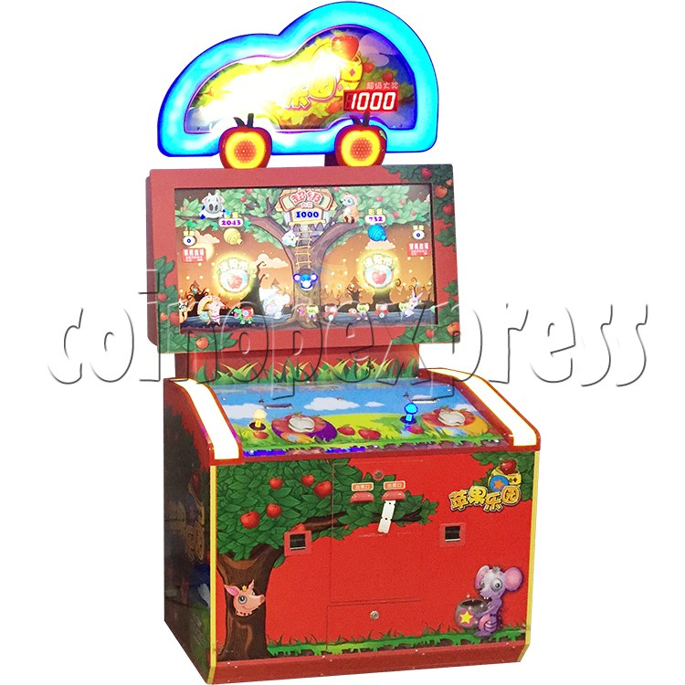 Apple Picking Arcade Ticket Redemption Machine - appearance sticker 2