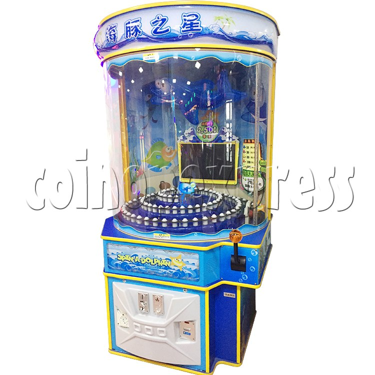 Spin A Dolphin Arcade Ticket Redemption Machine - right view