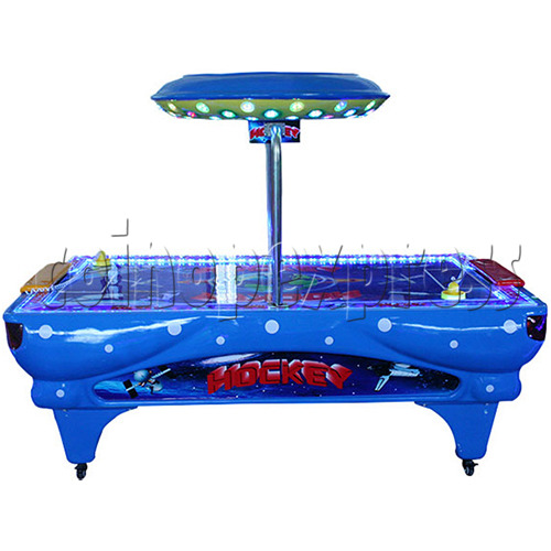 Universal Air Hockey Arcade Ticket Redemption Machine - front view