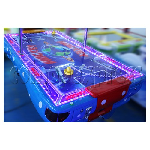 Universal Air Hockey Arcade Ticket Redemption Machine - side view
