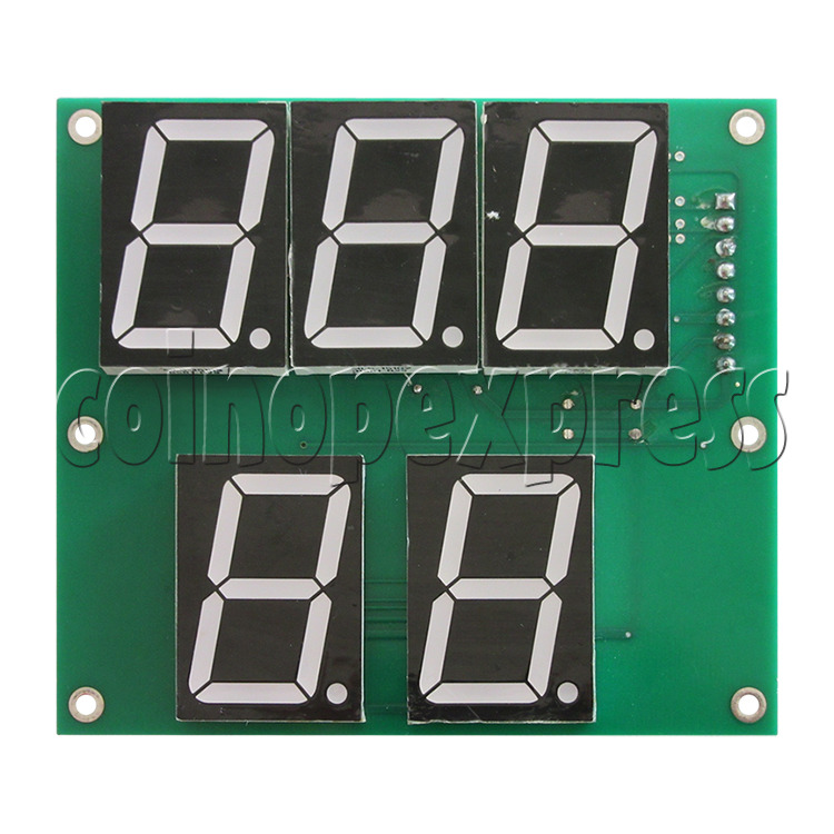 Segment Display Board for Forest Hockey Machine - front view