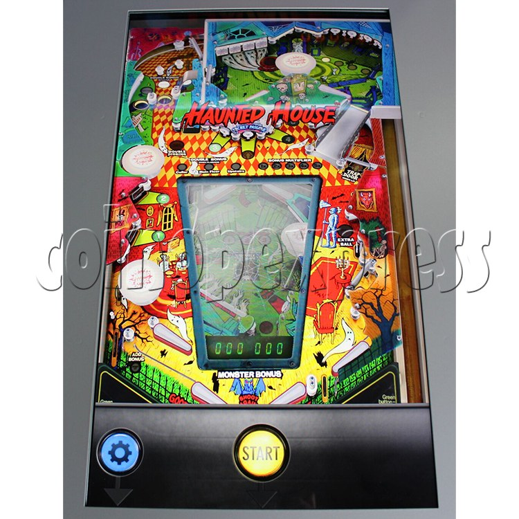 Haunted House Digital Pinball Machine with 12 Gottlieb Games (Toyshock) - screen display 2