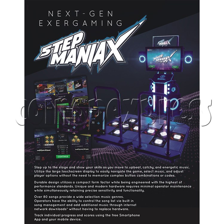 Step ManiaX Dancing Machine catalogue