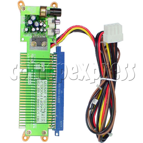 3.3V Power Supply Kit for NAOMI Game System Board - jamma connector