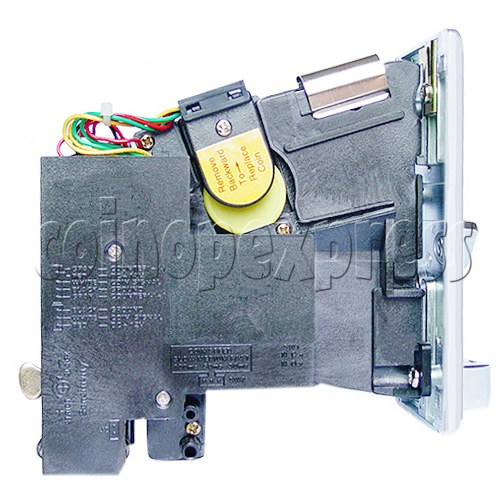 Electronic Coin Acceptor - left view