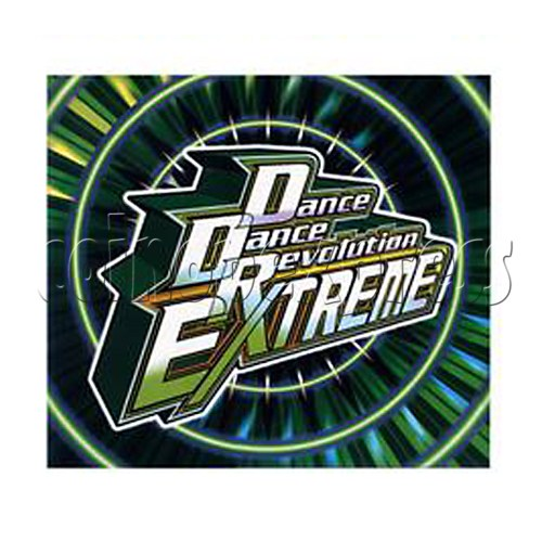 DDR Extreme Title Banner - front view