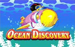 Ocean Discovery Monitor Kiddie Ride 1149