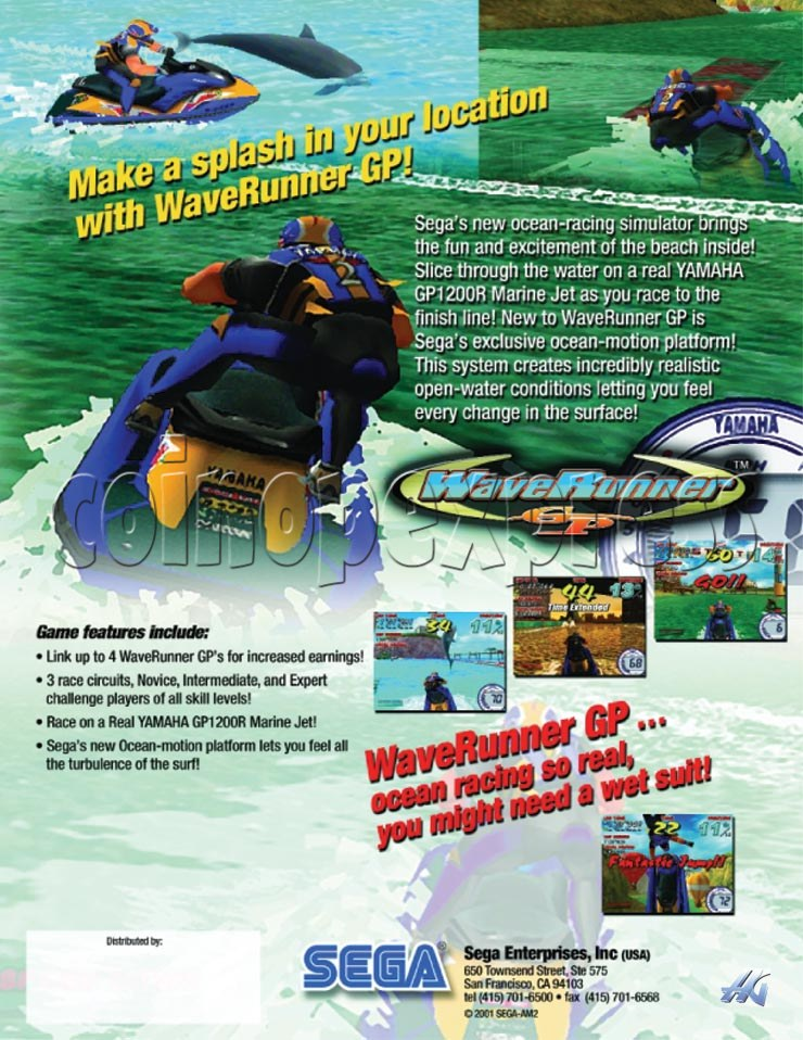 Wave Runner GP DX 4717