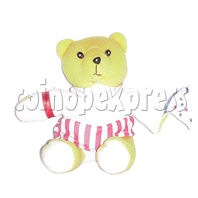 "8"" Bear with Flag 4443"