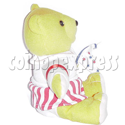 "8"" Bear with Flag 4446"