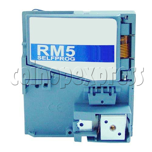 Electronic Coin Mechanisms RM5 Evolution Series (F Version - Front Insertion & Rejection) 8472