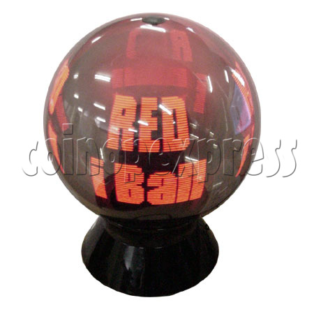 "Advertising LED Ball (iBall - 36"" Red Color) 7140"
