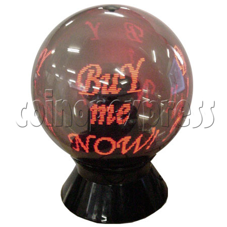 "Advertising LED Ball (iBall - 36"" Red Color) 7141"