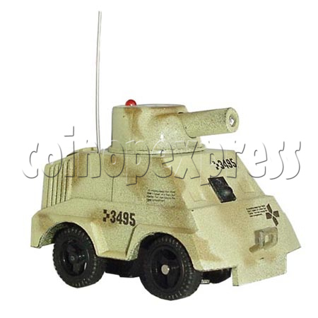 Mini Remote Control Combat Tanks 7670