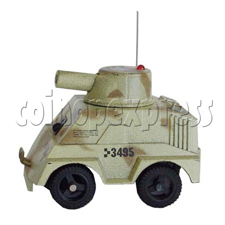 Mini Remote Control Combat Tanks 7672