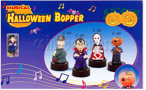 Musical Halloween Bopper 7922