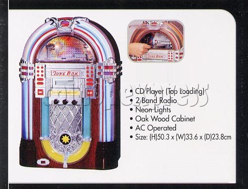 Chicago 1 - Neon CD Jukebox 7322