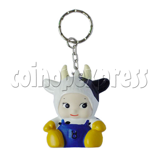 Twelve Horoscope Star Key Ring 8033