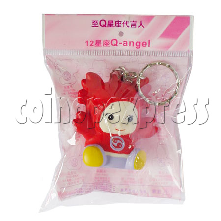 Twelve Horoscope Star Key Ring 8039