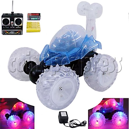 Mini Stunt Car with Flashing Light 9062