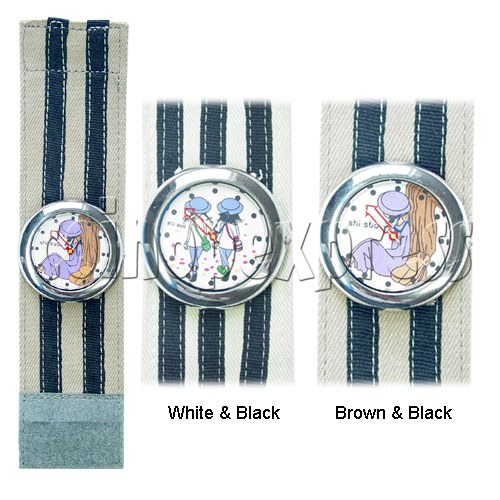 Elastic Fabric Watches 11241