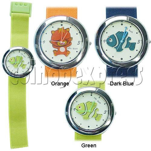 Elastic Fabric Watches 11242