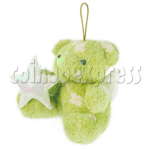 "4"" Teddy Bear With Lucky Star 10394"