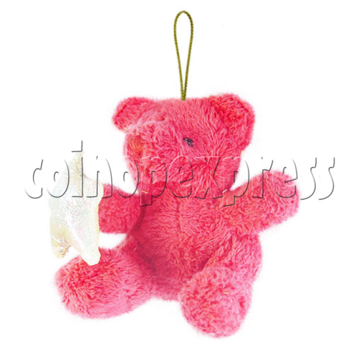 "4"" Teddy Bear With Lucky Star 10395"